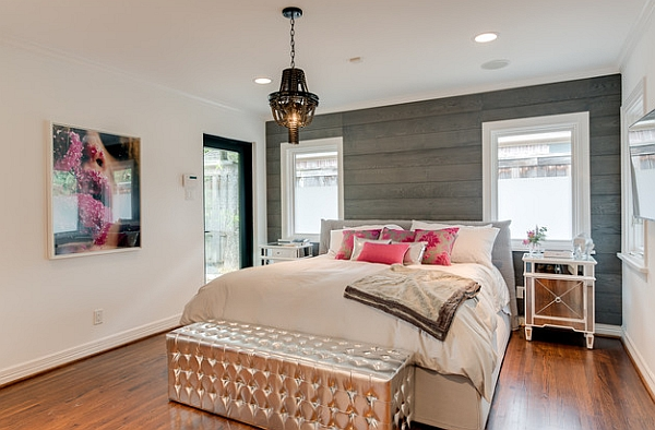 20 Unique Bedroom Designs With Wood Walls