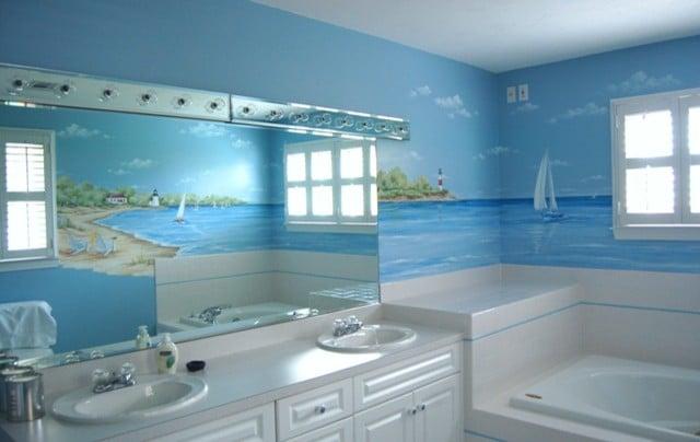 Beach Style Bathroom. Beach Style Bathroom S