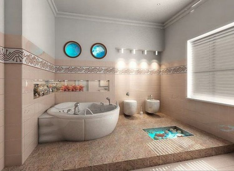 20 Beautiful Beach Style Bathroom Design Ideas