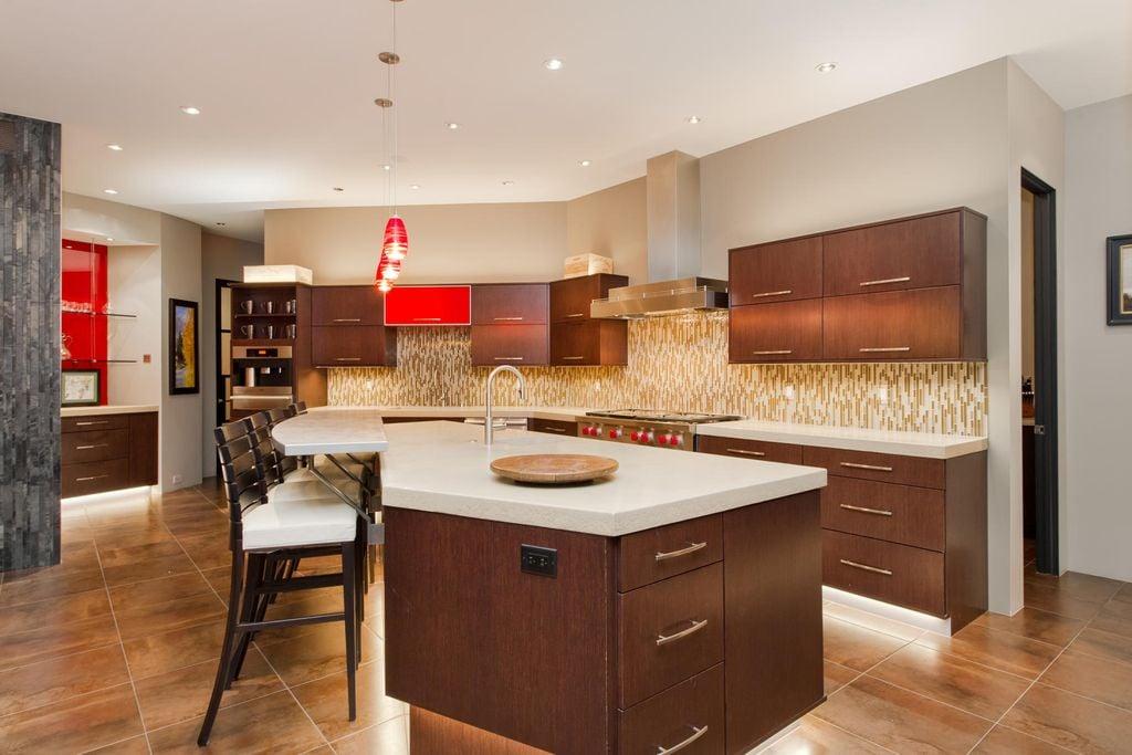 20 sensible brown kitchen ideas  nimvo  interior design