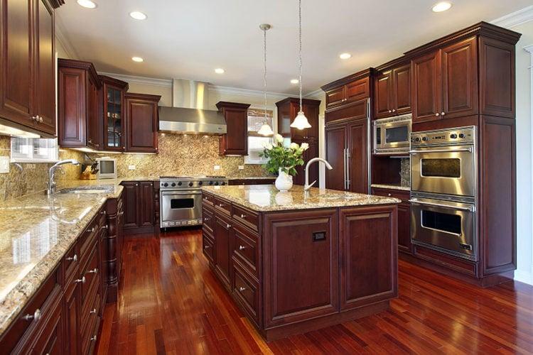 20 Sensible Brown Kitchen Ideas, Kitchen Ideas With Brown Cabinets
