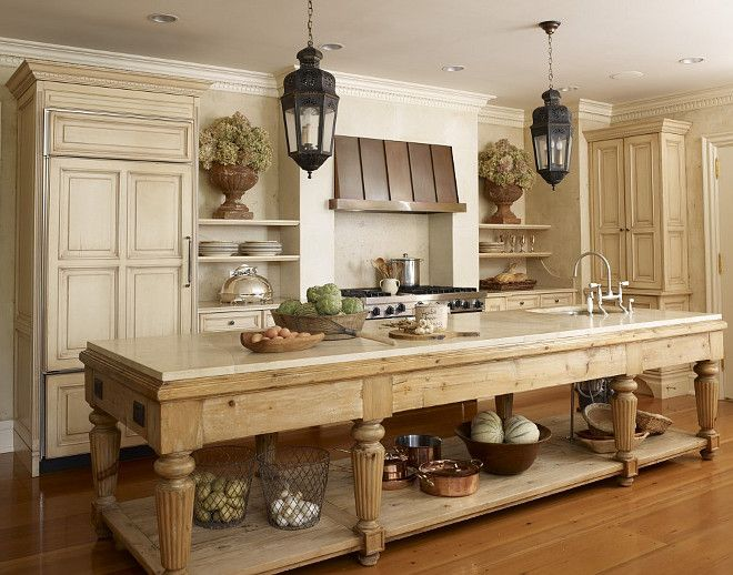 20 Beautiful Examples of Farmhouse Kitchen Design