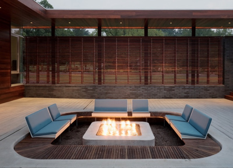 20 Beautiful Outdoor Fire Pit Ideas