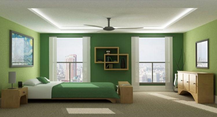 20 Beautiful Green Bedroom Ideas