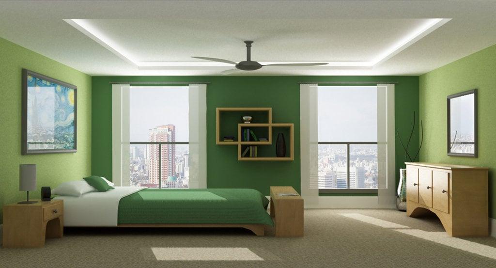 20 beautiful green bedroom ideas - Green Bedroom Ideas