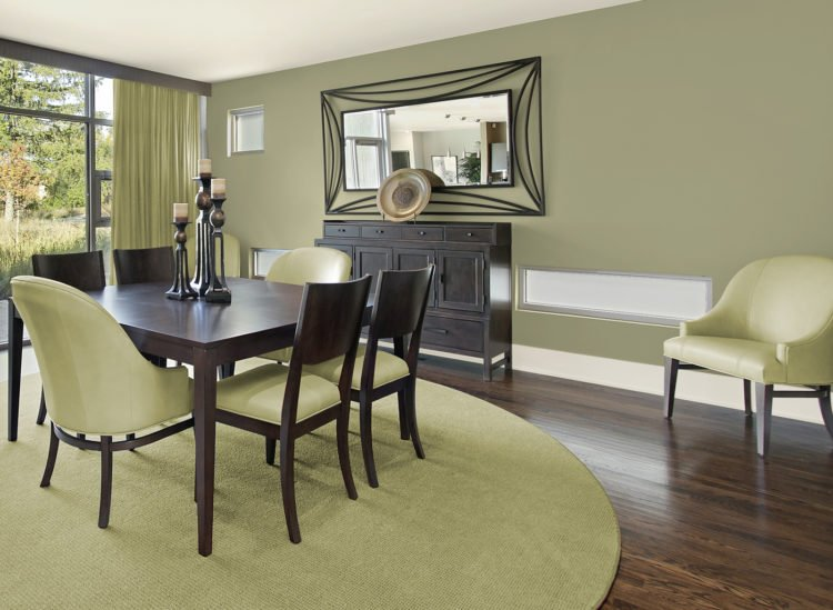 Green Kitchen What Color Dining Room