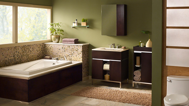 For Even More Ideas Here Are 20 Beautiful Green Bathroom