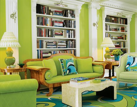 Warm Green Living Room Colors 20 gorgeous green living room ideas