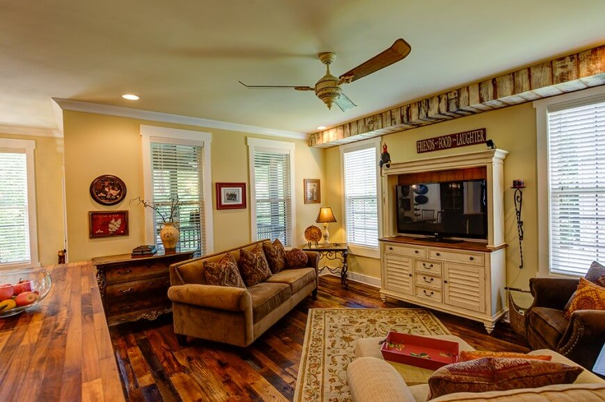 20 gorgeous country style living room ideas nimvo - Decorating living room country style ...