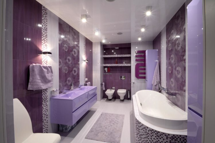 Take A Look At The Following 20 Beautiful Purple Bathroom Ideas To Get You Inspired