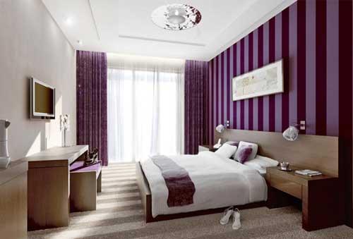 purple bedroom ideas. Image via www decoholic org 20 Beautiful Purple Bedroom Ideas