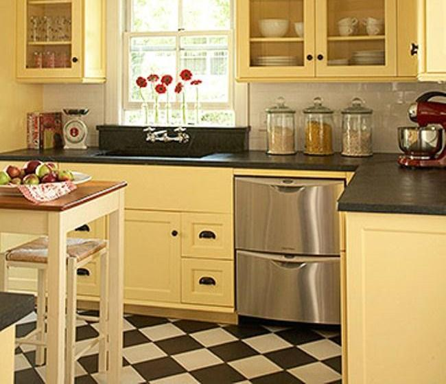 Small Kitchen Furniture Ideas: 20 Kitchen Cabinets Designed For Small Spaces