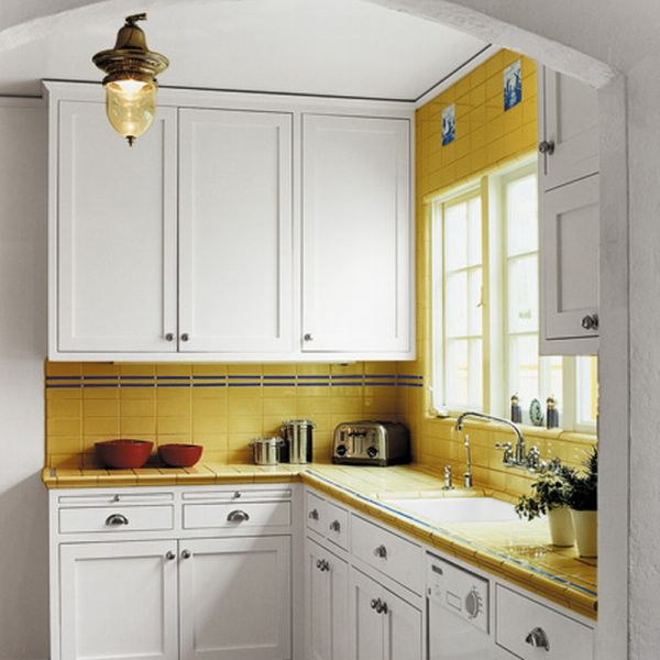Small Space Kitchen Plans Gallery: 20 Kitchen Cabinets Designed For Small Spaces