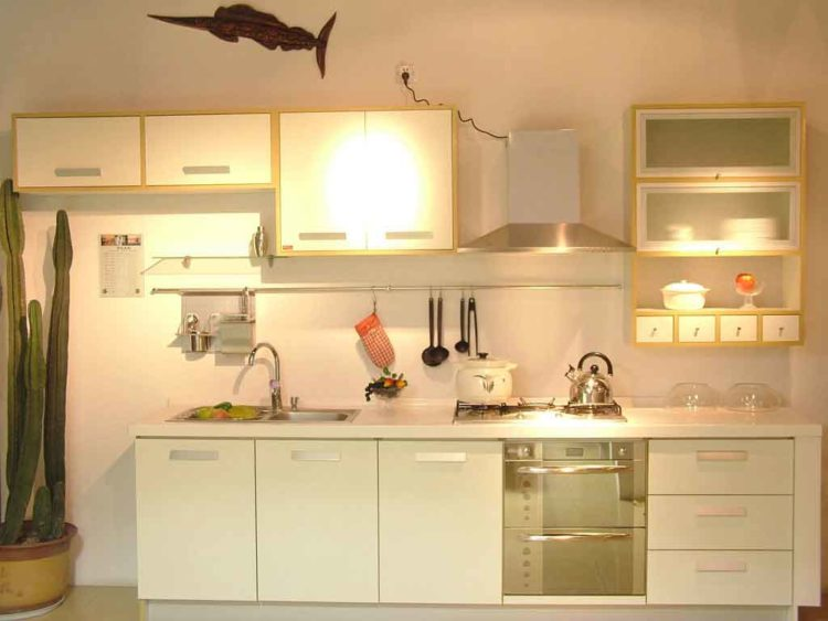 20 kitchen cabinets designed for small spaces - Kitchen units for small spaces photos ...
