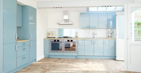 48 Beautiful Blue Kitchen Ideas New Blue Kitchen Designs