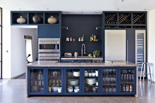 20 Beautiful Blue Kitchen Ideas