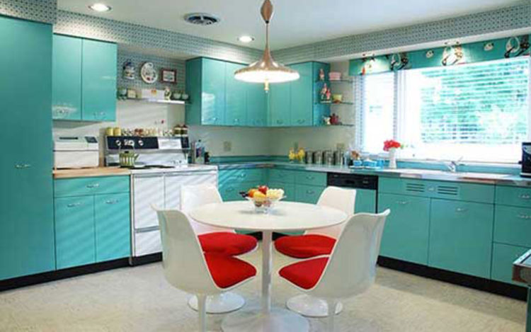 20 Beautiful Blue Kitchen Ideas
