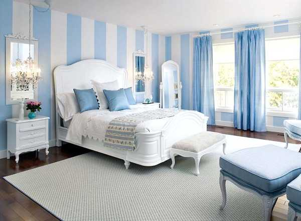 20 Gorgeous Blue Bedroom Ideas