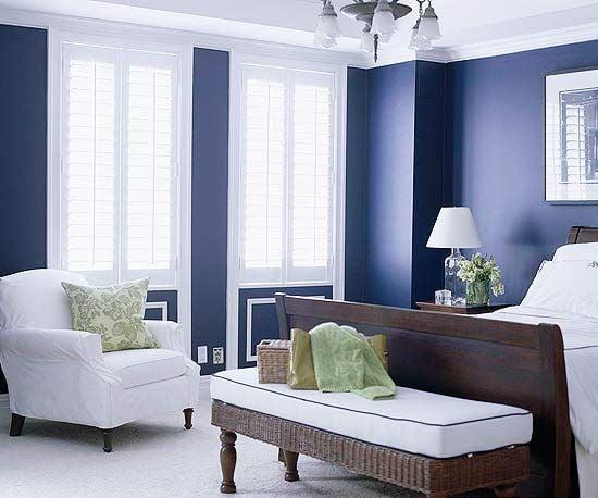 bedroom ideas blue. Image via www  rjvaleo com 20 Gorgeous Blue Bedroom Ideas
