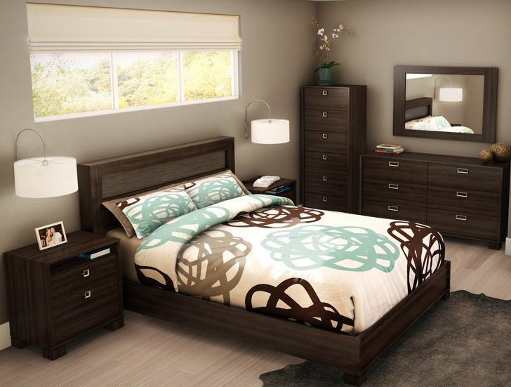 20 gorgeous brown bedroom ideas - How to furnish a small bedroom ...