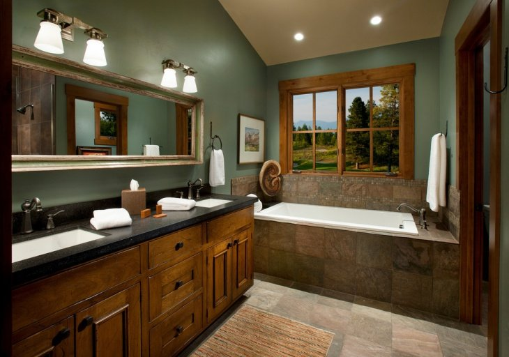 20 Beautiful Green Bathroom Ideas