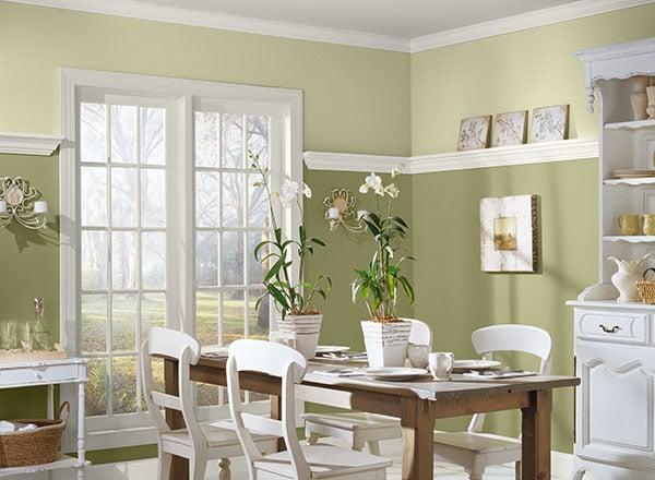 green dining rooms. Green Dining Rooms \u2013 5 U