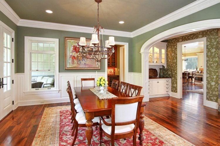 Green Dining Room Ideas Part - 36: Image Via Www.decoist.com