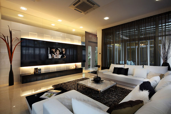 20 Modern Style Living Room Design Ideas | Nimvo - Interior Design ...