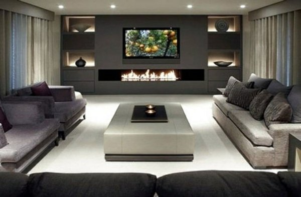 20 Modern Style Living Room Design Ideas | Nimvo - Interior and ...