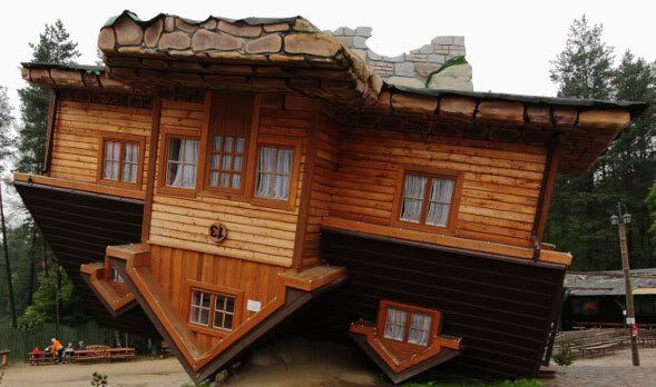 Polish Upside Down Home U2013 Szymbark, ...