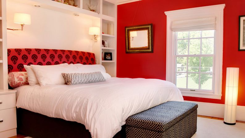 astounding red bedroom walls will | 20 Red Bedroom Ideas That Look Pretty Classy