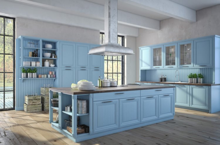Bon 20 Beautiful Blue Kitchen Ideas