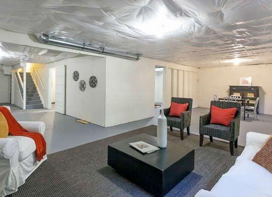 Gorgeous Basement Flooring Ideas - Basement flooring ideas