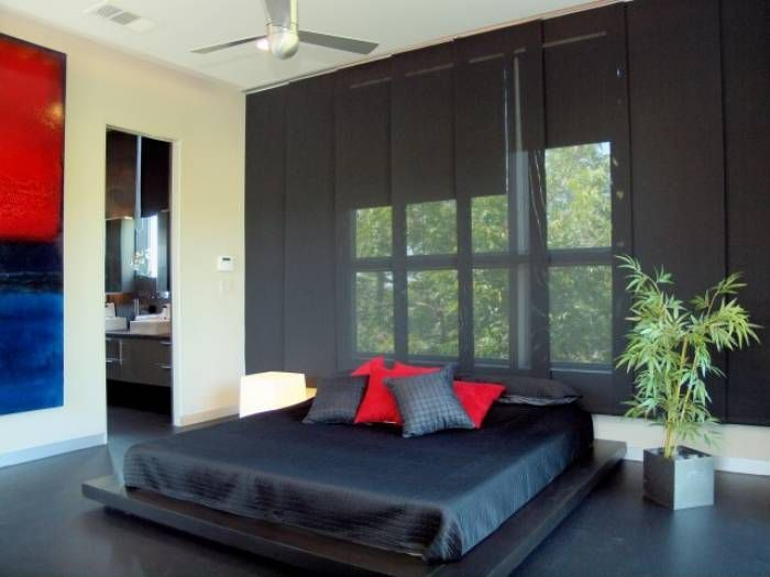 20 beautiful bedrooms with modern ceiling fans. Black Bedroom Furniture Sets. Home Design Ideas