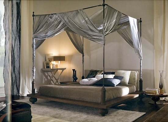 20 Beautiful Rooms With Exquisite Four Poster Bed Designs