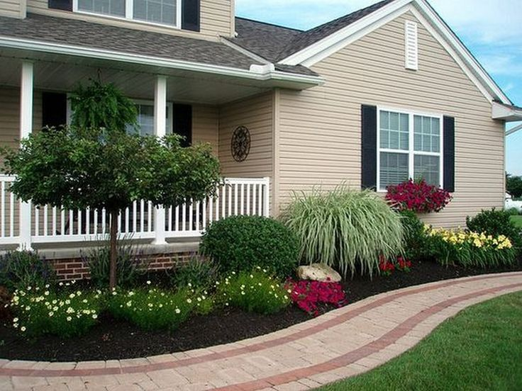 20 Simple But Effective Front Yard Landscaping Ideas on Simple Backyard Landscaping Ideas id=43782