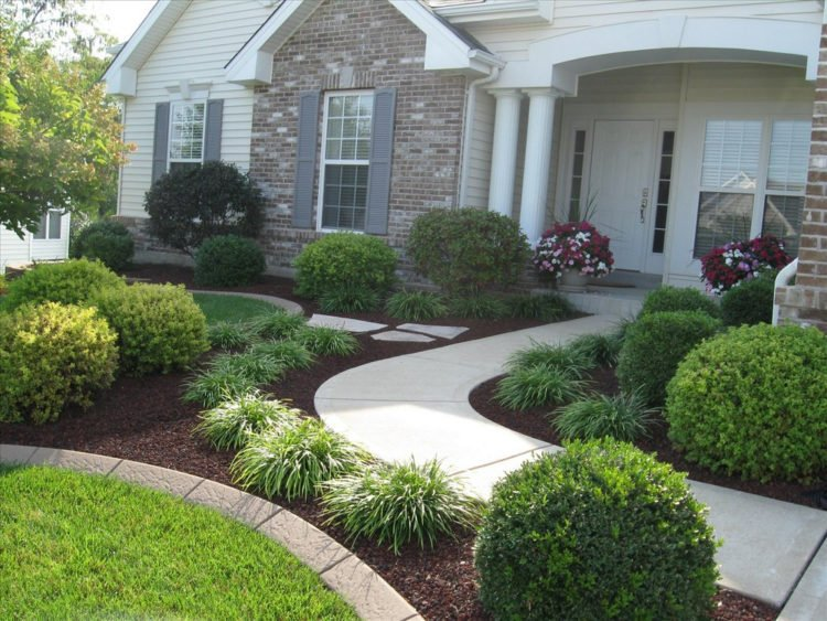 20 Simple But Effective Front Yard Landscaping Ideas on Simple Backyard Landscaping Ideas id=82055
