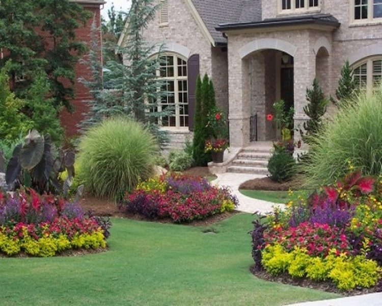 20 Simple But Effective Front Yard Landscaping Ideas on Simple Backyard Landscaping id=78982