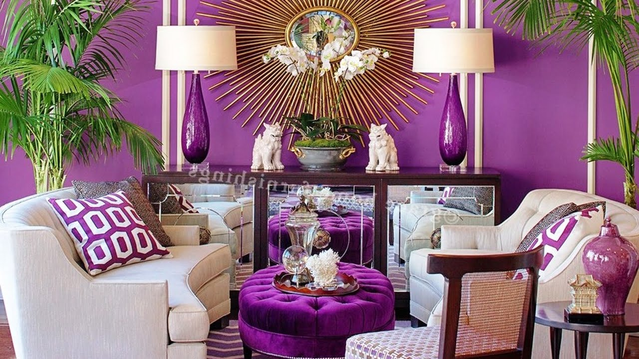 purple walls living room 20 beautiful purple living room ideas 15977