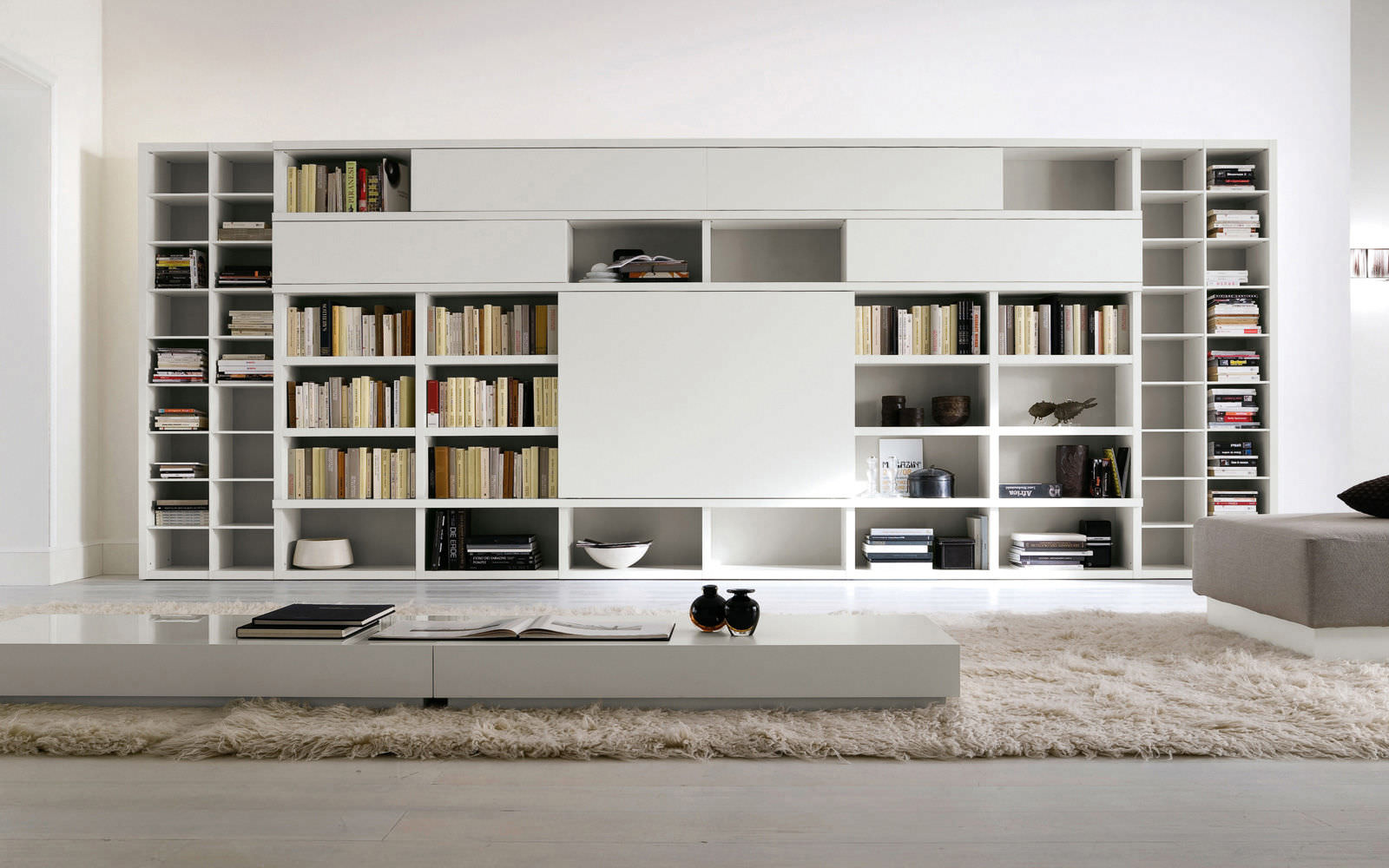home decorating ideas bookshelves 20 examples of modern bookcases 11307