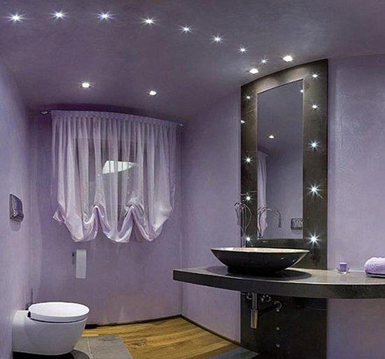 Bathroom Lighting Ideas For Small Bathrooms: 20 Beautiful Purple Bathroom Ideas