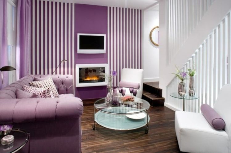 For More Purple Decorative Designs For Your Living Room, Here Are 20  Beautiful Purple Living Room Ideas For You To View.