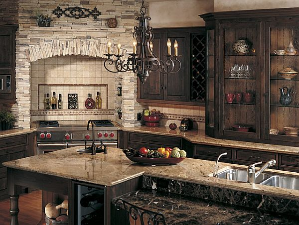 kitchen cabinets rustic style 20 beautiful rustic kitchen ideas 6369