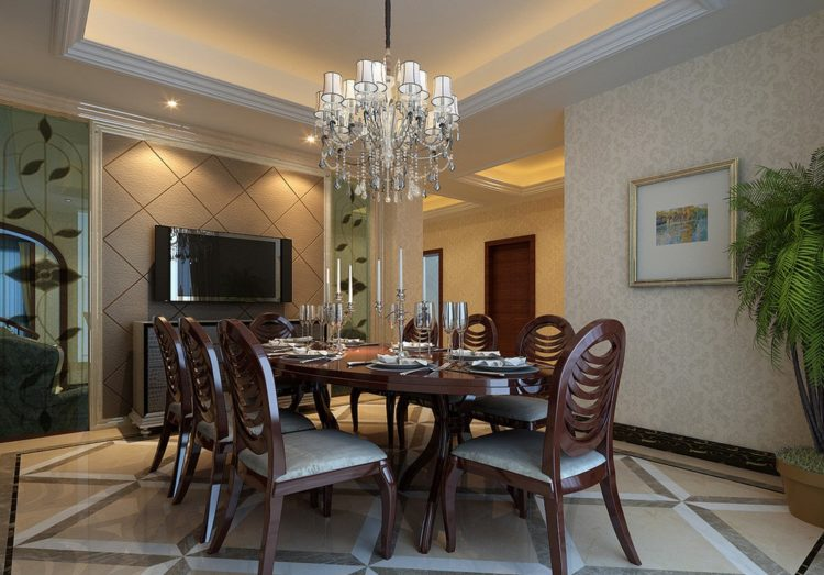 20 gorgeous dining rooms with beautiful chandeliers image via amazadesign aloadofball Choice Image