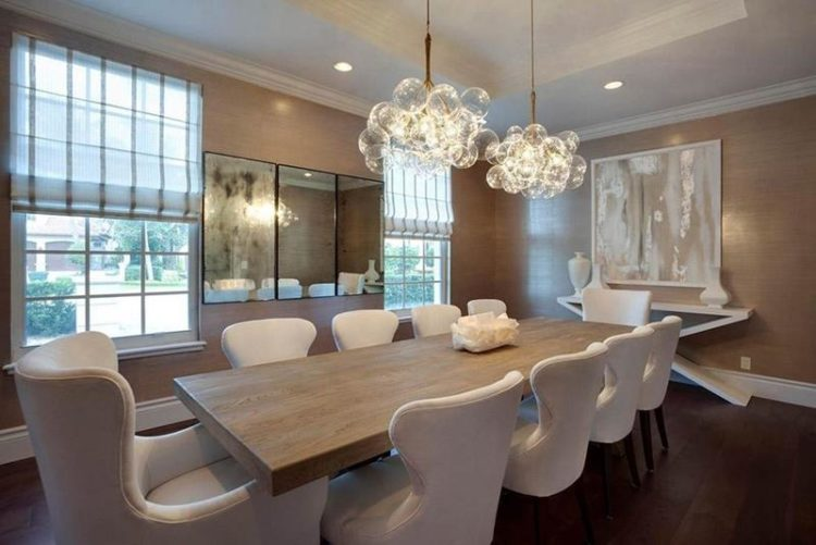 23 Dining Room Chandelier Designs Decorating Ideas: 20 Gorgeous Dining Rooms With Beautiful Chandeliers