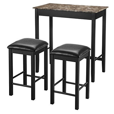 it is a classic country style look especially the crisscross design for the back of the chairs  the table is delivered with two chairs so it makes a great     10 kitchen tables specifically designed for small spaces  rh   nimvo com