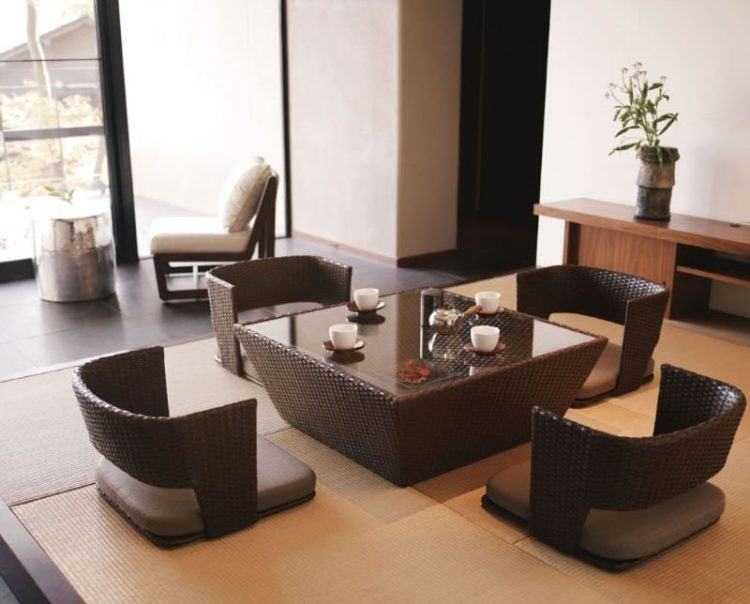 20 In Style Japanese Table Designs | Nimvo - Interior