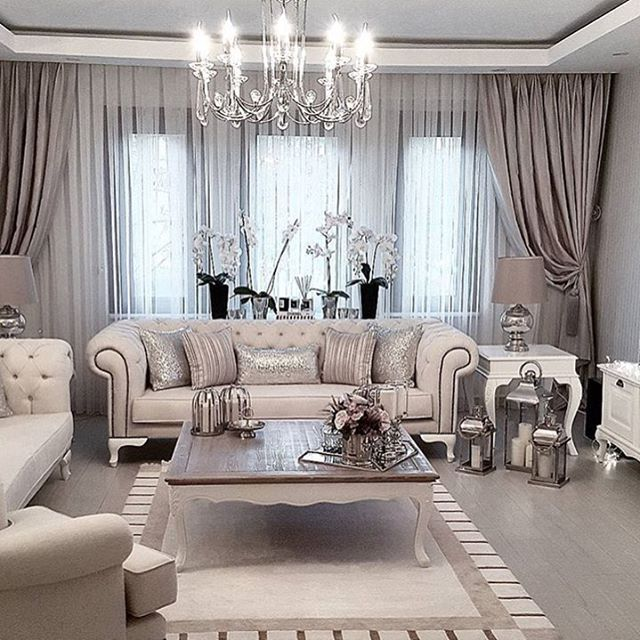 20 Curtain Ideas for Your Luxurious Living Room on Living Room Drapes Ideas  id=85637