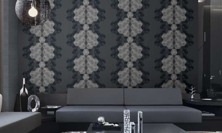 d15a8735e43 20 Living Rooms Featuring Paintable Wallpaper