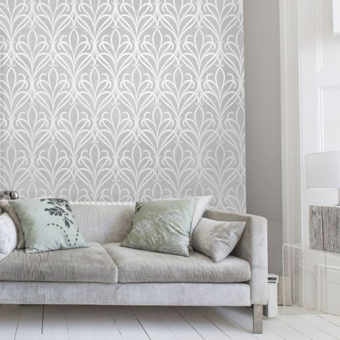 20 Living Rooms Featuring Paintable Wallpaper